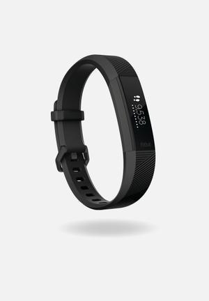 Fitbit Fitbit Alta HR Fitness Trackers & Accessories Black Gunmetal