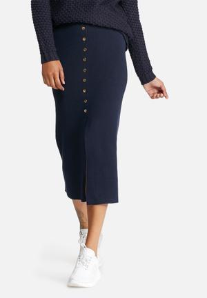 Vero Moda Maine Skirt Navy