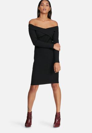 Pieces Alex Dress Casual Black