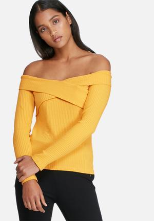 Pieces Alex Top T-Shirts, Vests & Camis Yellow