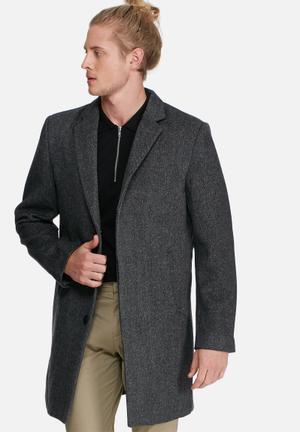 Bellfield Jag Jacket Coats Grey