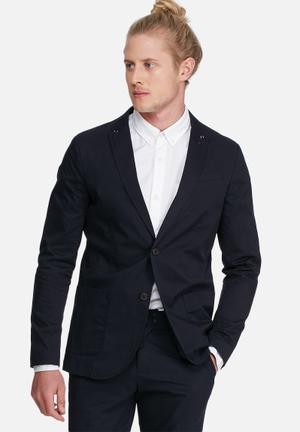 Jack & Jones Premium Bart Blazer Jackets & Coats Navy