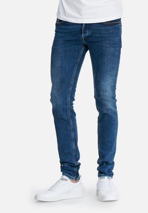 Diesel  Sleenker Skinny Fit Jeans Blue