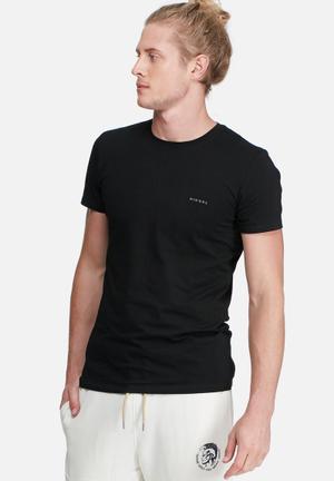 Diesel  Randal 2-pack T-Shirts & Vests Black