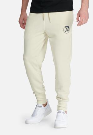 Diesel  Peter Sweatpants Cream & Black