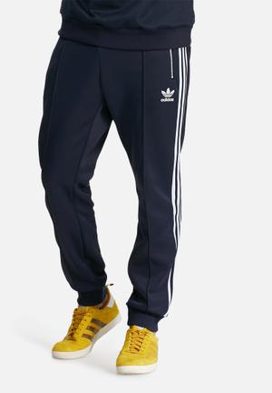 Adidas Originals Siebziger Track Pants Sweatpants & Shorts Navy & White