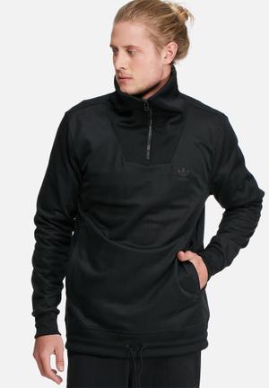 Adidas Originals St HZ Track Top Hoodies & Sweatshirts Black
