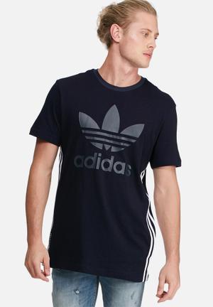Adidas Originals NMD Tee T-Shirts Navy, Black & White
