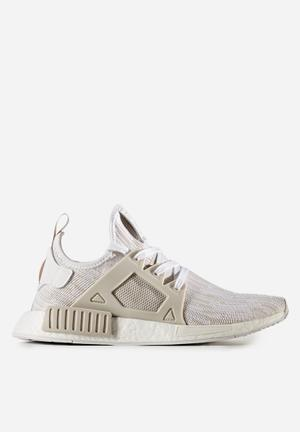 Adidas Originals NMD_XR1 Primeknit Sneakers Ftw White / Pearl Grey