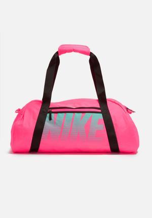 Nike Gym Club Bag Pink, Black & Mint