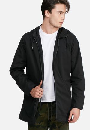 PRODUKT Pro Boy Parka Jacket Black