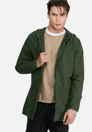 PRODUKT Pro Boy Parka Jacket Green