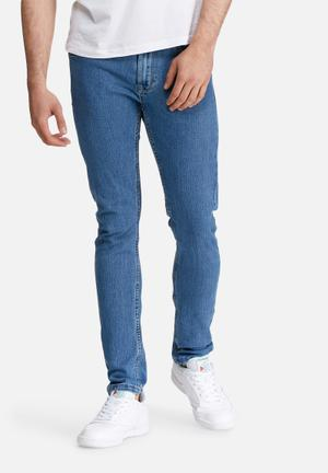 Only & Sons Warp Skinny Camp Jeans Blue