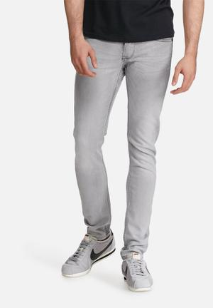 Only & Sons Loom Slim Jeans Grey