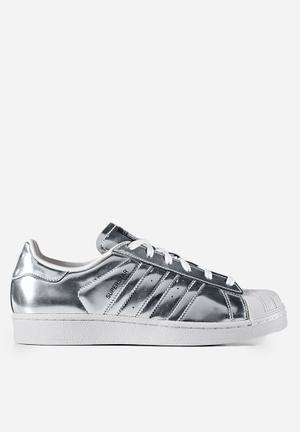 Adidas Originals Superstar Sneakers Silver Metallic