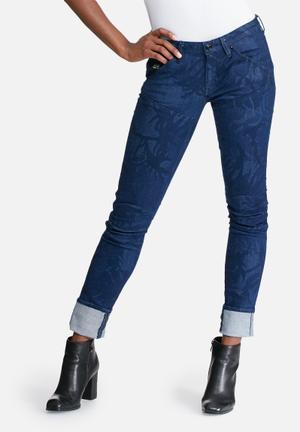 G-Star RAW 5620 Mid Skinny Jeans Blue