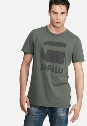 G-Star RAW Tomber Tee T-Shirts & Vests Grey