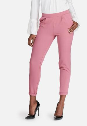 Dailyfriday Classic Suit Pants Trousers Pink