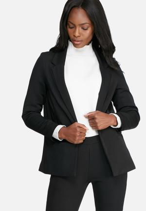 Dailyfriday Classic Lined Suit Jacket Black