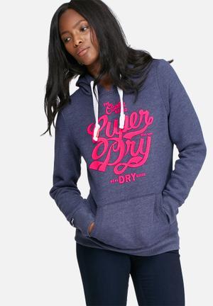 Superdry. Osaka Brand Hood T-Shirts, Vests & Camis Blue