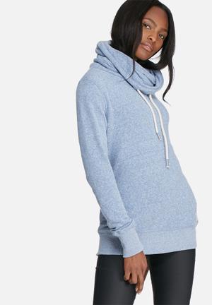 Superdry. Nordic Funnel Neck T-Shirts, Vests & Camis Blue