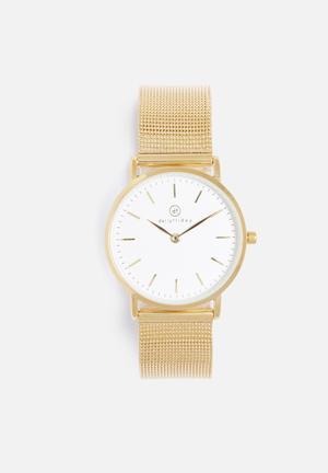 Dailyfriday Kiara Mesh Watch Gold