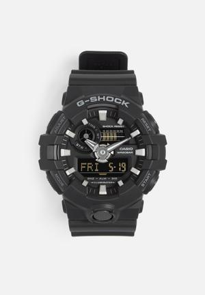 Casio G-shock Anadigi GA-700-1BDR Watches Black