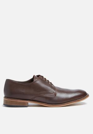 Basicthread  Lethabo Leather Dress Shoe Brown