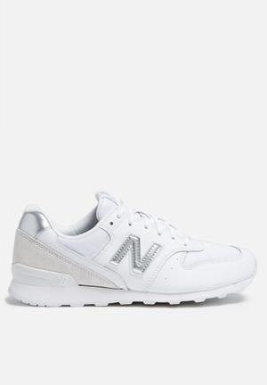New Balance  WR996WM Sneakers White / Mtllc Silver