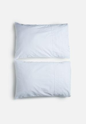 Sixth Floor Anglaise Pillowcase Set Bedding 200TC Cotton