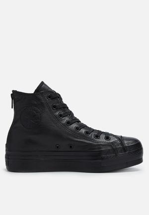Converse Chuck Taylor All Star Platform Shroud Sneakers Black
