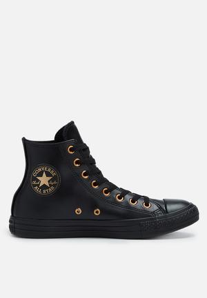 Converse Chuck Taylor All Star Craft Sneakers Black/Gold/Black