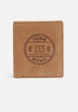 Freedom Of Movement Bifold Wallet Light Tan