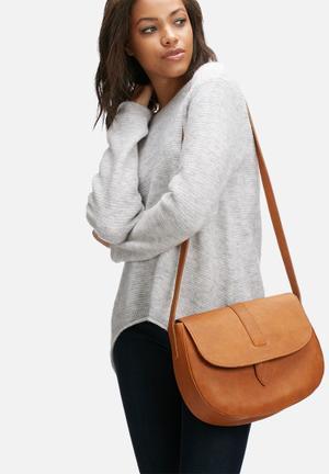 FSP Collection Nesbit Leather Saddle Bags & Purses Tan