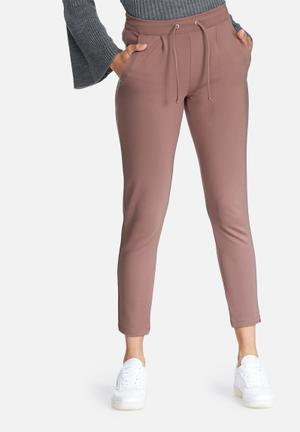 Jacqueline De Yong Pretty Ankle Pants Trousers Dirty Pink
