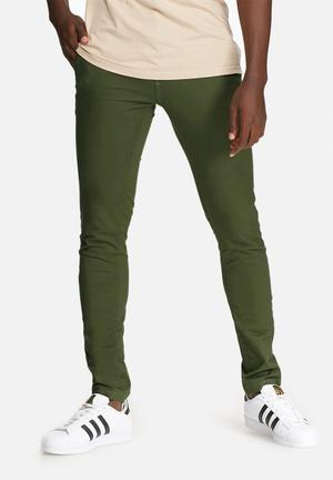 Basicthread Skinny Chino Green