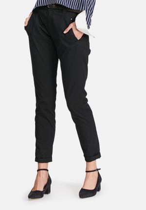 Vero Moda Bondi Chino Pants Trousers Black