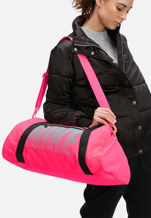Nike Gym Club Bag Pink, Black & Mint