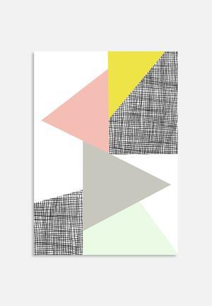 Nanamia Design Triangle Art