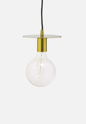 Sixth Floor Disk Pendant Lighting Metal