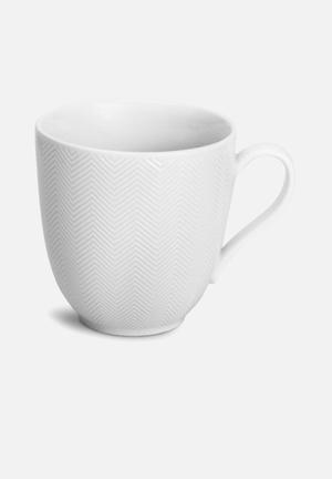 Humble & Mash Herringbone Mug Porcelain