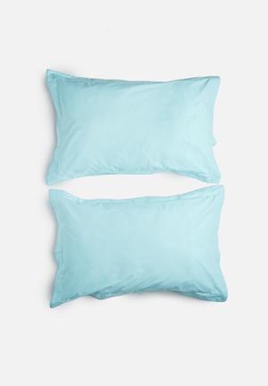Sixth Floor Reversible Pillowcase Set Bedding 200TC Cotton