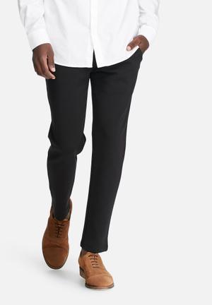 Jack & Jones Footwear And Accessories Randy Slim Trouser Pants & Chinos Black