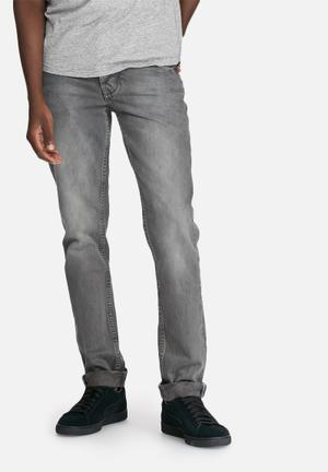 Sergeant Pepper Stovepipe Rigid 12oz Jeans Grey