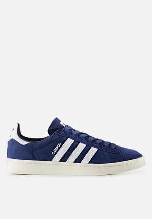 Adidas Originals Campus Sneakers Dark Blue / Chalk White