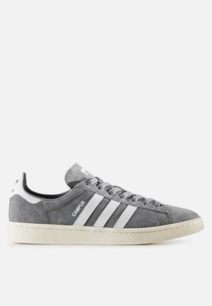 Adidas Originals Campus Sneakers Grey Three / Chalk White