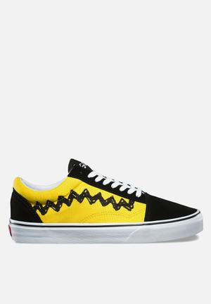 Vans Vans X Peanuts Old Skool Sneakers Black & Yellow