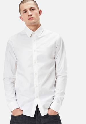 G-Star RAW Core Slim Shirt  White