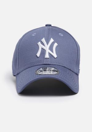 New Era 9Forty NY Yankees Headwear Blue Slate