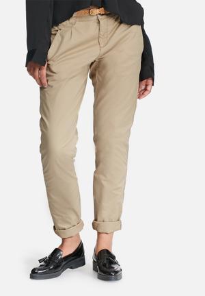 Vero Moda Bondi Chino Pants Trousers Beige